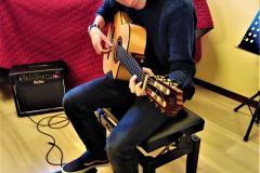 Eventi Natale 2018 - classi di chitarra